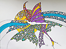 Mariposa multicolor