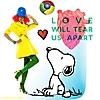 LOVE WILL TEAR US